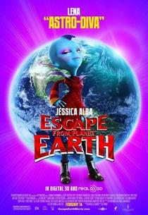 A Fuga do Planeta Terra - Poster / Capa / Cartaz - Oficial 4