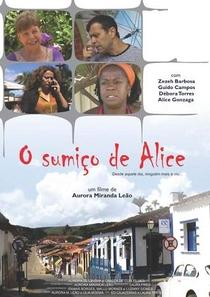 O Sumiço de Alice - Poster / Capa / Cartaz - Oficial 1
