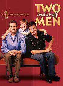 Dois Homens e Meio (1ª Temporada) - Poster / Capa / Cartaz - Oficial 1