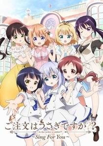 Gochuumon wa Usagi Desu ka??: Sing for You - Poster / Capa / Cartaz - Oficial 1