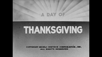 A Day of Thanksgiving - Poster / Capa / Cartaz - Oficial 1