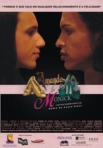 Amanda e Monick - Poster / Capa / Cartaz - Oficial 1