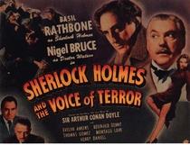 Sherlock Holmes e a Voz do Terror - Poster / Capa / Cartaz - Oficial 5