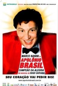 Apolônio Brasil - O Campeão da Alegria - Poster / Capa / Cartaz - Oficial 1