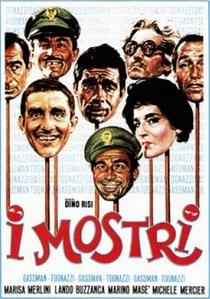 Os Monstros - Poster / Capa / Cartaz - Oficial 1