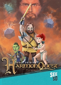 HarmonQuest (2ª Temporada) - Poster / Capa / Cartaz - Oficial 1
