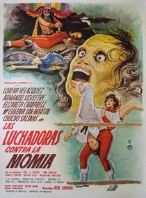 As Lutadoras Contra a Múmia - Poster / Capa / Cartaz - Oficial 1