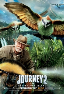 Viagem 2 - A Ilha Misteriosa - Poster / Capa / Cartaz - Oficial 7