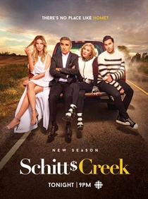 Schitt's Creek (2ª temporada) - Poster / Capa / Cartaz - Oficial 1