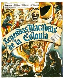 Leyendas macabras de la colonia - Poster / Capa / Cartaz - Oficial 1