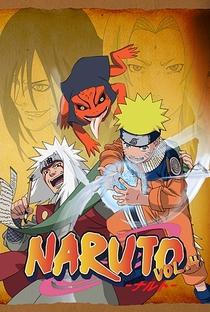 Naruto (4ª Temporada) - Poster / Capa / Cartaz - Oficial 4