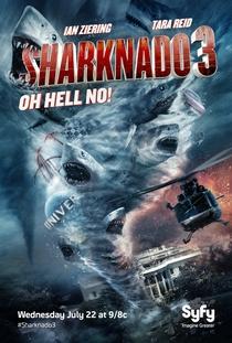 Sharknado 3: Oh, Não! - Poster / Capa / Cartaz - Oficial 1