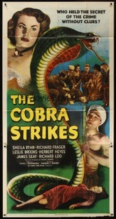 The Cobra Strikes - Poster / Capa / Cartaz - Oficial 1