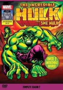 O Incrível Hulk (2ª Temporada) - Poster / Capa / Cartaz - Oficial 1