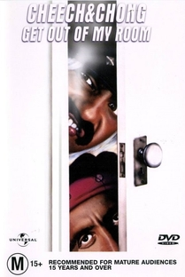 Cheech & Chong - Get Out of My Room - Poster / Capa / Cartaz - Oficial 4