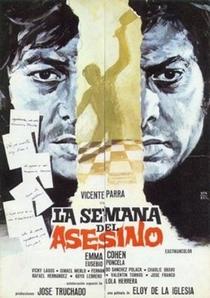 A Semana do Assassino - Poster / Capa / Cartaz - Oficial 1