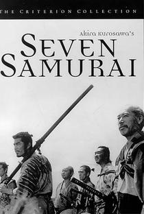 Os Sete Samurais - Poster / Capa / Cartaz - Oficial 3