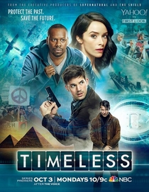 Timeless (1ª Temporada) - Poster / Capa / Cartaz - Oficial 1