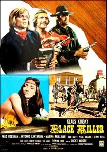 O Pistoleiro Negro - Poster / Capa / Cartaz - Oficial 2