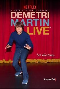 Demetri Martin: Live (At the Time) - Poster / Capa / Cartaz - Oficial 1