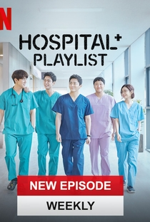 Hospital Playlist (1ª Temporada) - Poster / Capa / Cartaz - Oficial 2