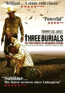 Três Enterros - Poster / Capa / Cartaz - Oficial 3
