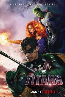 Titãs (1ª Temporada) - Poster / Capa / Cartaz - Oficial 2