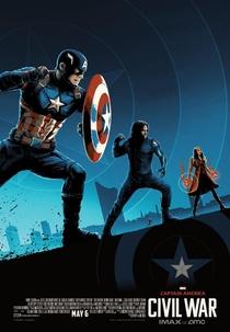 Capitão América: Guerra Civil - Poster / Capa / Cartaz - Oficial 12