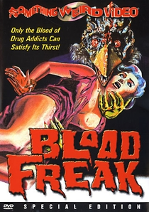 Blood Freak - Poster / Capa / Cartaz - Oficial 1