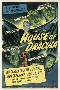 A Casa de Dracula - Poster / Capa / Cartaz - Oficial 1