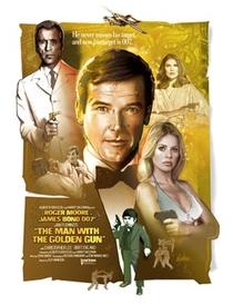 007 - Contra o Homem com a Pistola de Ouro - Poster / Capa / Cartaz - Oficial 4