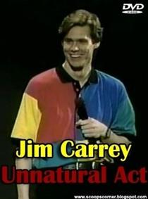 Jim Carrey: The Un-Natural Act - Poster / Capa / Cartaz - Oficial 1