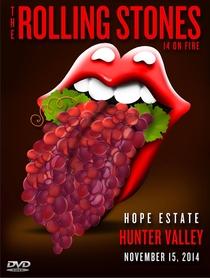 Rolling Stones - Hunter Valley 2014 - Poster / Capa / Cartaz - Oficial 1
