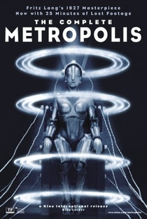 Metrópolis - Poster / Capa / Cartaz - Oficial 1
