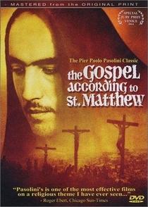 O Evangelho Segundo São Mateus - Poster / Capa / Cartaz - Oficial 2