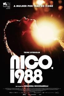 Nico, 1988 - Poster / Capa / Cartaz - Oficial 3
