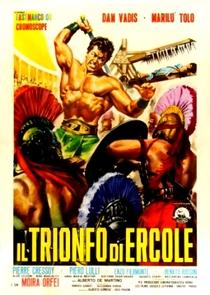 O Triunfo de Hércules - Poster / Capa / Cartaz - Oficial 1