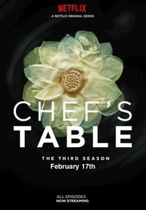 Chef's Table (3ª Temporada) - Poster / Capa / Cartaz - Oficial 1