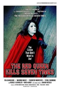 A Rainha Vermelha Mata Sete Vezes - Poster / Capa / Cartaz - Oficial 1