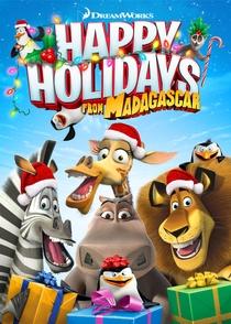 Feliz Natal Madagascar - Poster / Capa / Cartaz - Oficial 4