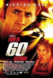 60 Segundos - Poster / Capa / Cartaz - Oficial 1