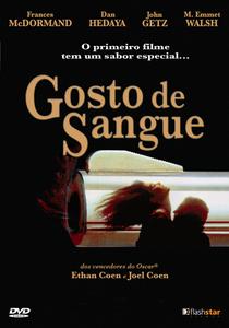 Gosto de Sangue - Poster / Capa / Cartaz - Oficial 10