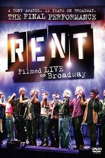 Rent - Os Boêmios: Ao Vivo na Broadway - Poster / Capa / Cartaz - Oficial 1
