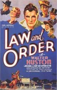 Lei e Ordem - Poster / Capa / Cartaz - Oficial 1
