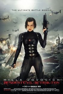 Resident Evil 5: Retribuição - Poster / Capa / Cartaz - Oficial 17