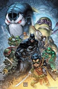 Batman vs Tartarugas Ninja - Poster / Capa / Cartaz - Oficial 2