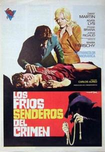 Los Fríos Senderos del Crimen - Poster / Capa / Cartaz - Oficial 1