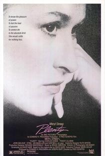 Plenty - O Mundo de Uma Mulher - Poster / Capa / Cartaz - Oficial 1