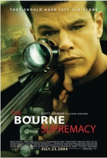 A Supremacia Bourne - Poster / Capa / Cartaz - Oficial 2