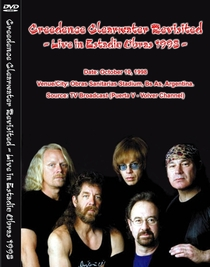 Creedence Clearwater Revisited - Live in Obras 1998 - Poster / Capa / Cartaz - Oficial 1